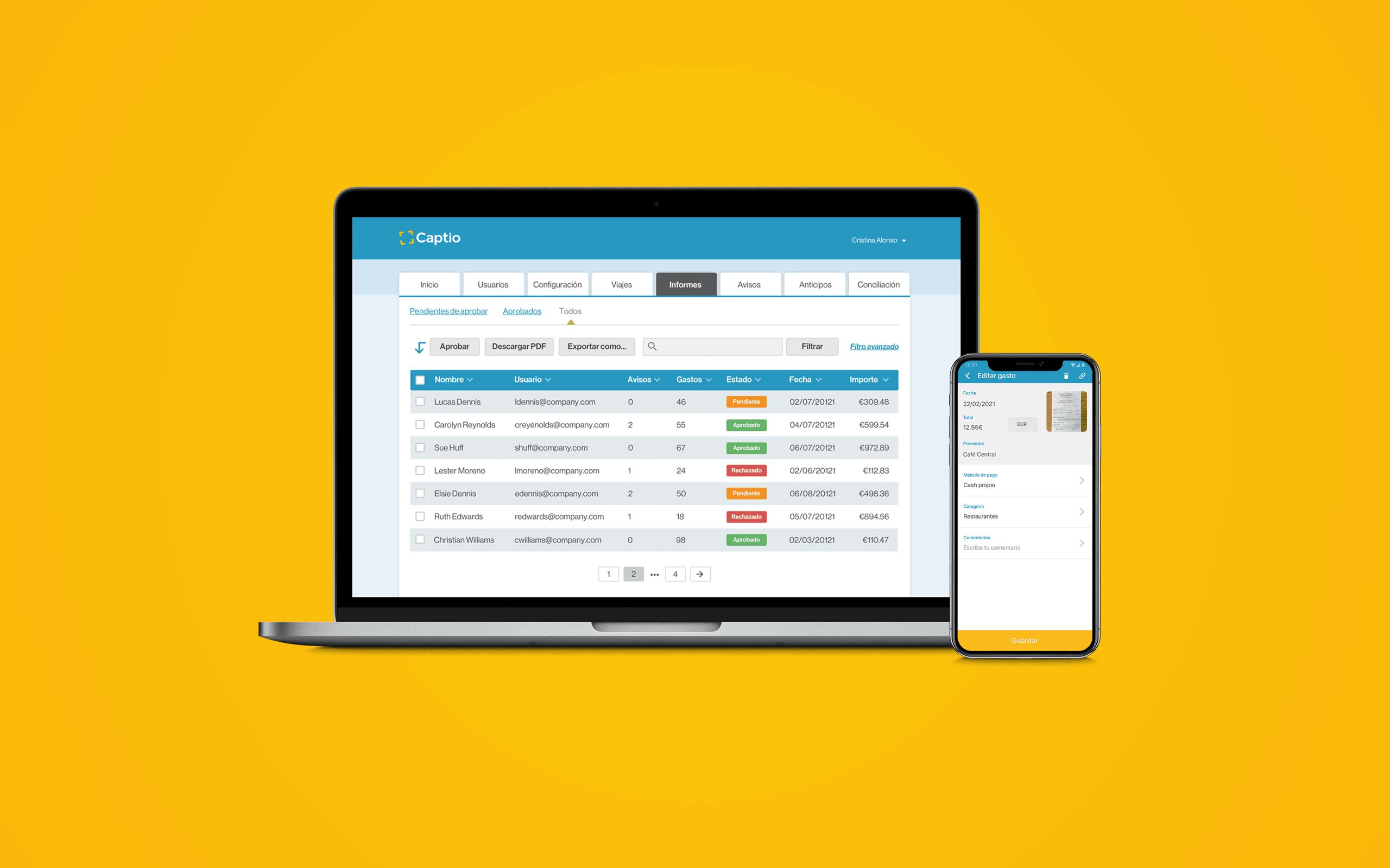 Digitaliza tus gastos de empresa con Captio